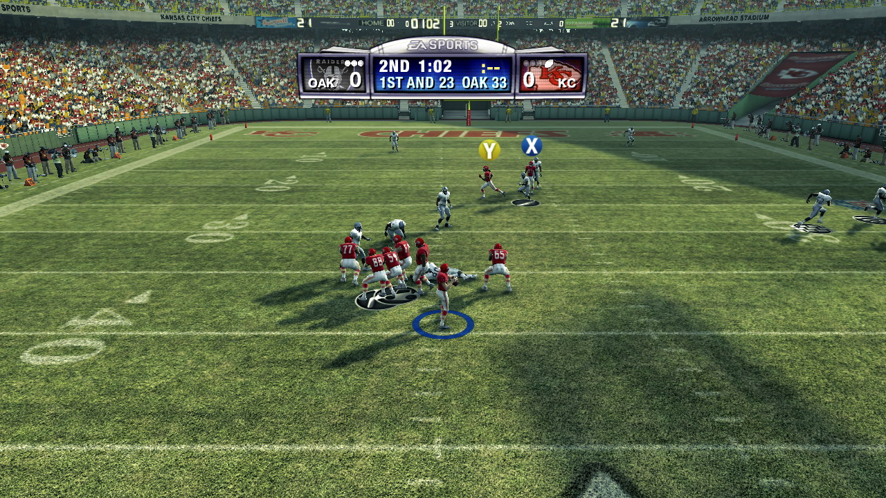maddennfl09classiccamera A Layman's Guide to Projection in Videogames