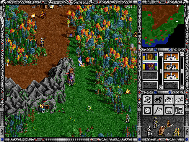 snap0071 Heroes of Might & Magic II Bits