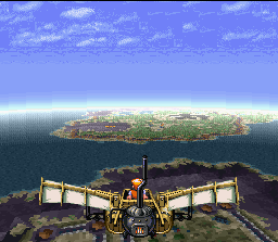 Backtracking through the continents is impossible until the end of the game when the player obtains a Leonardo Da Vinci like flying machine.