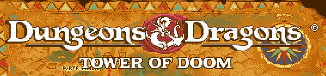 Dungeons Dragons Tower of Doom header  Dungeons & Dragons – Tower of Doom Bits
