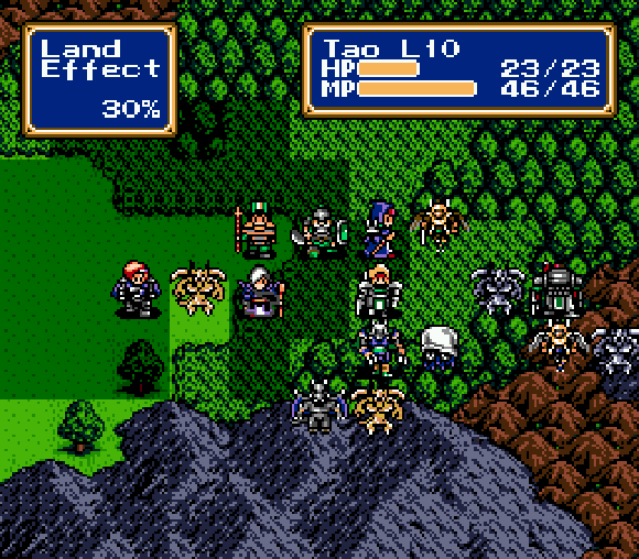 Shining Force Forest Trudys Mechanicals