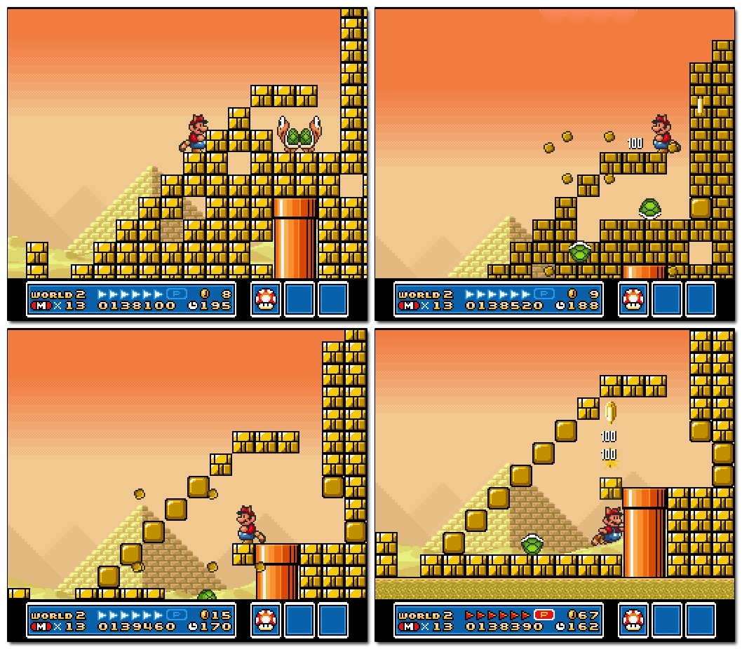 Super Mario Bros 3 Level Design Lessons, Part 2 > Significant Bits