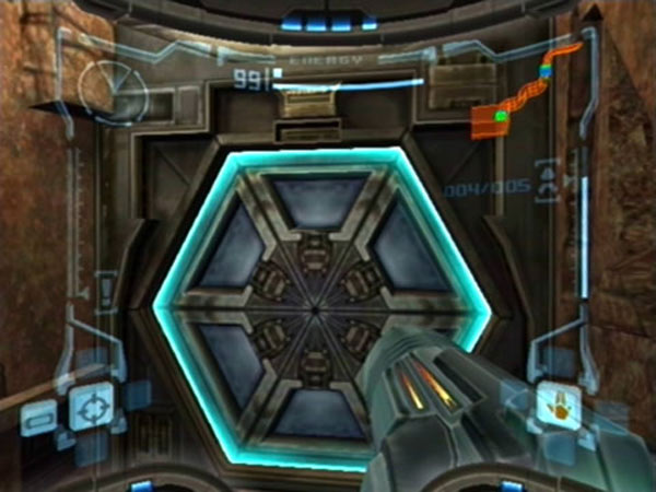 metroid prime door The Irresistible