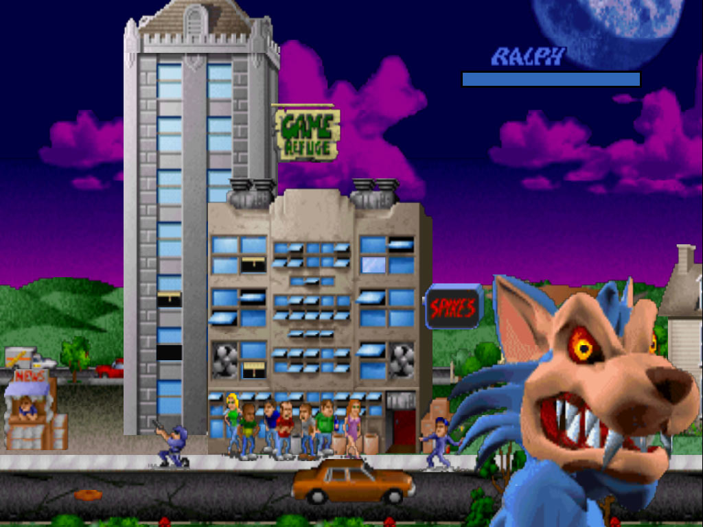 rampage world tour 01 Rampage World Tour Bits