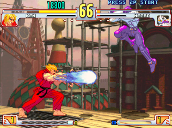 street fighter iii battle end The Irresistible