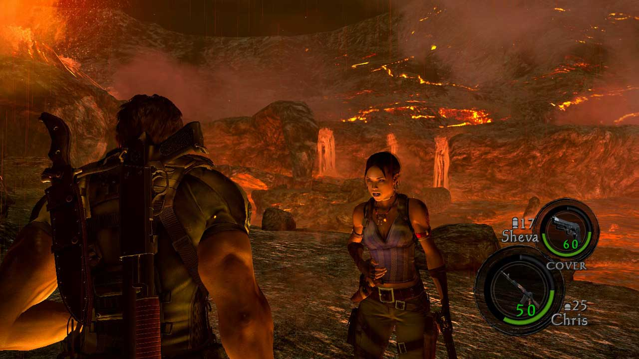 resident evil 5 healing Why Resident Evil 5s Co op Worked so Well