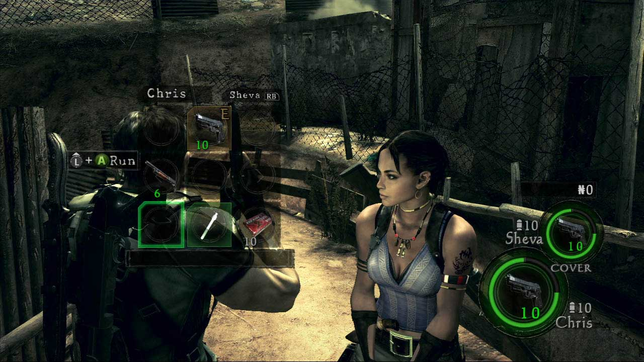 resident evil 5 inventory Why Resident Evil 5s Co op Worked so Well