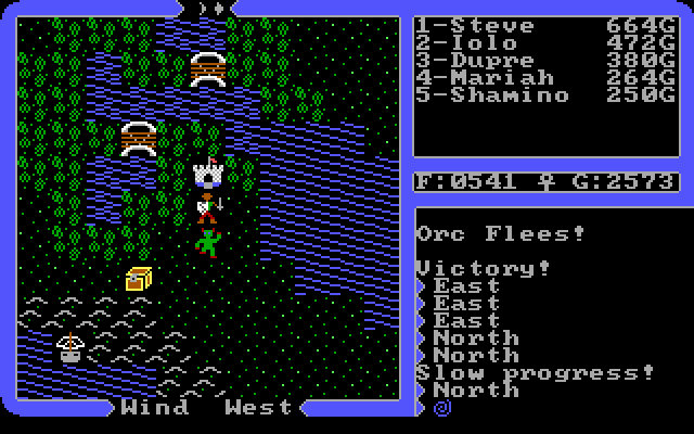 Ultima IV Avatar 1 Ultima IV Gameplay Narrative