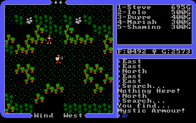 Ultima IV Avatar 7 Ultima IV Gameplay Narrative